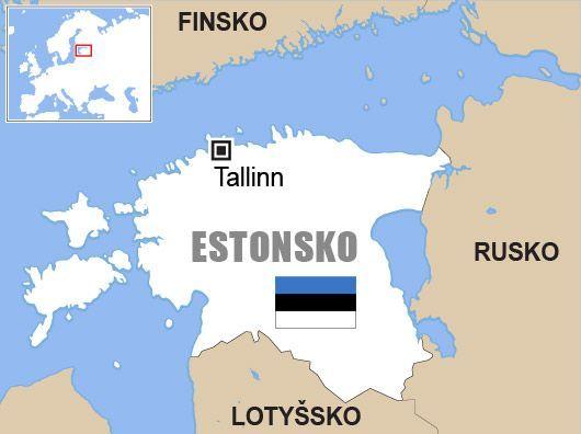 Estonsko Mapa Aktualne Cz