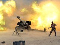 IS ztrácí město, kde nepříteli říkali Satan. Na mostě byly lidské trofeje