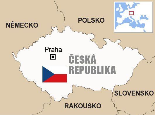 Výsledek obrázku pro ceska republika mapa