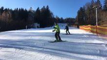 V Česku už se lyžuje. Zatím překvapivě jen ve středních Čechách