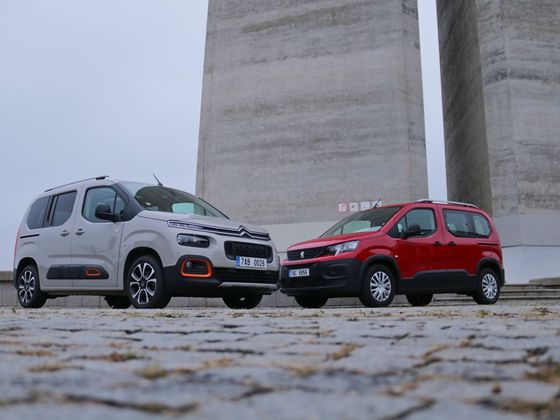 Citroën Berlingo vs. Peugeot Rifter test 2018