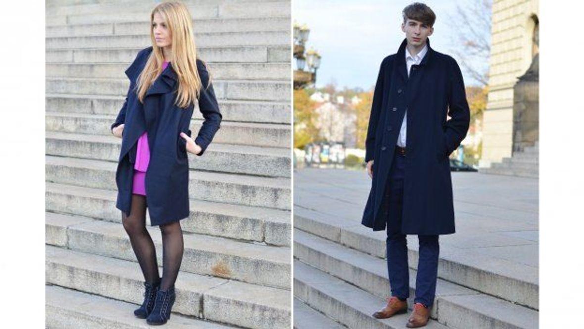 Fashion Inspiration  Stylové kabáty pro zimní semestr - Studenta.cz 4efdafff4af