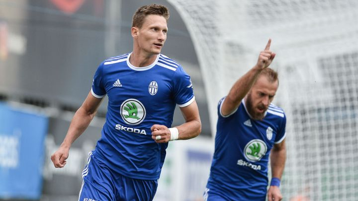 Boleslav zachránila dvěma góly remízu se Sigmou, Hradec a Jablonec bodovaly naplno; Zdroj foto: ČTK