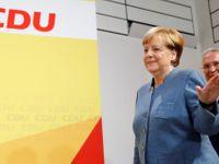 Živě: Merkelovou čekají jednání o koalici. V Sasku zvítězili populisté z AfD