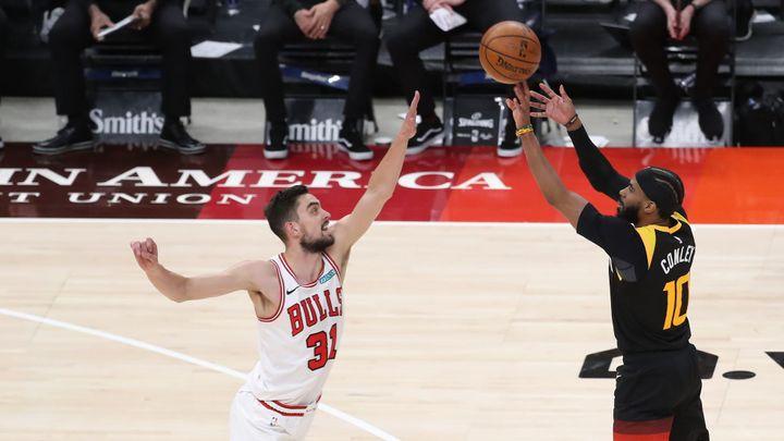 Satoranský pomohl Bulls k výhře nad Indianou sedmi body a šesti doskoky