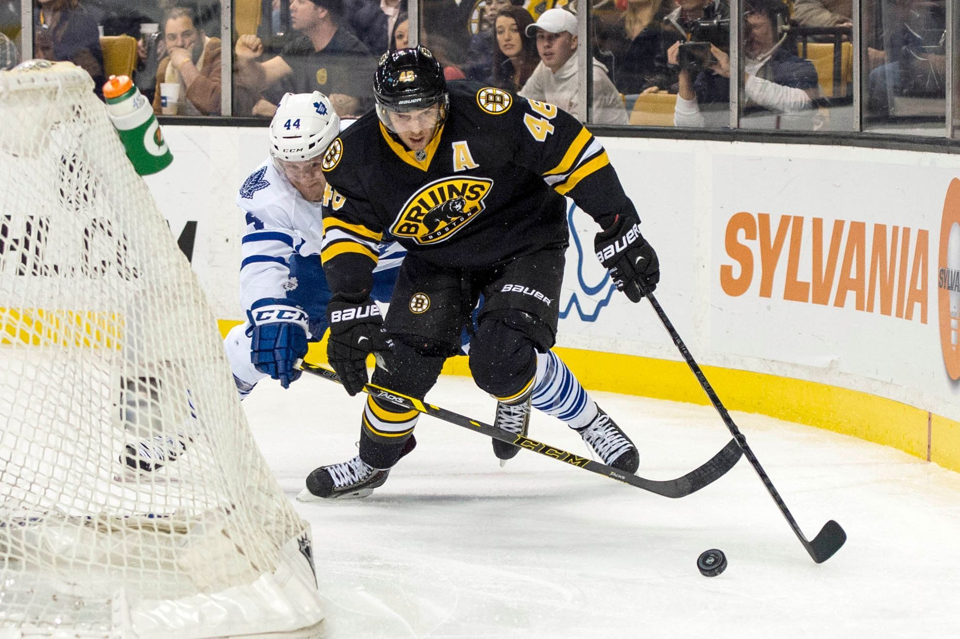 NHL: Toronto Maple Leafs at Boston Bruins