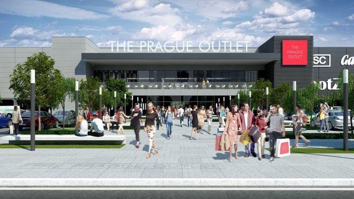 Největší outletové centrum v Česku se má otevřít do Vánoc