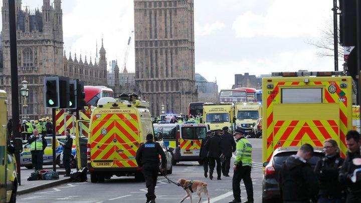Útočník v Londýně byl britský občan, inspirovala ho islamistická ideologie, řekla premiérka Mayová