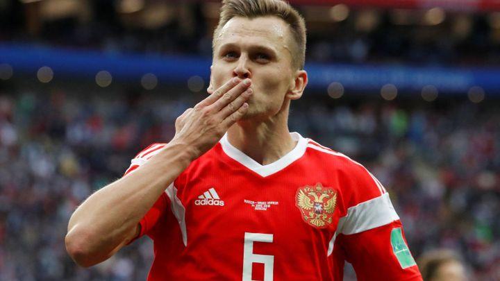 """Výhru Ruska zařídil dvěma góly """"supernáhradník"""" Čeryšev"""