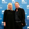 "Director Seidl and writer Franz pose during the photocall for the movie ""Im Keller"" at the 71st Venice Film Festival"