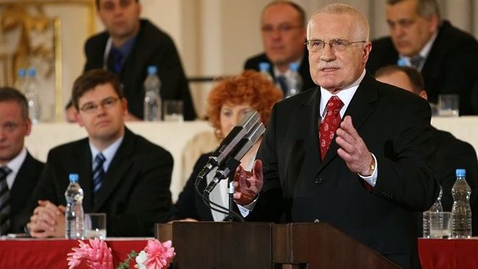 """The quality of air and water in rivers improved immensely. We have moved terribly but forget a bit too quickly what used to be,"" says  Václav Klaus"