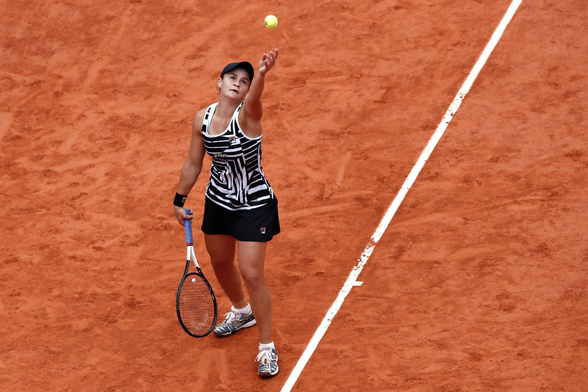 Ashleigh Bartyová ve finále French Open 2019