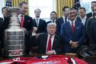 NHL 2018/19, Washington Capitals, Donald Trump