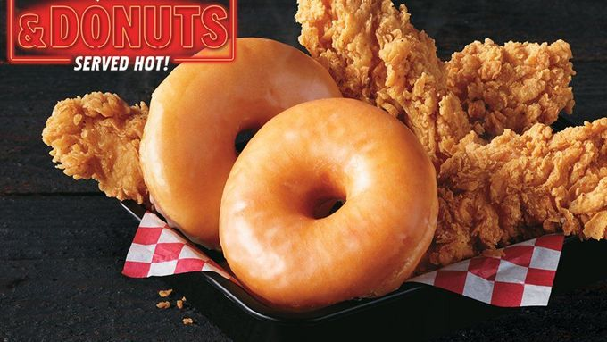 Chicken and Donuts.