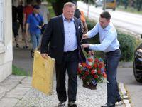 Panoptikum návštěvníků oslavy Martina Nejedlého: Od ruského velvyslance po sexuologa