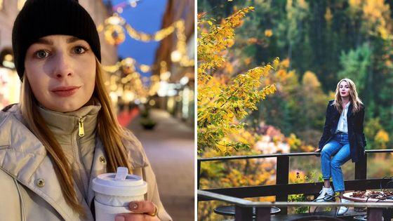 """Ruska Darja Grigorovová si zajela o svých narozeninách na zavřený Karlštejn, s lítostí se loučila s """"úpadkovou"""" Evropou v předvánočním Stockholmu."""