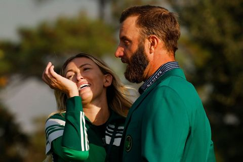 The Masters, Dustin Johnson, Paulina Gretzky