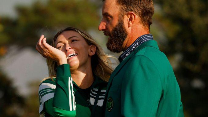 Golfová světová jednička Dustin Johnson, jehož partnerkou je Paulina Gretzky, dcera hokejové legendy