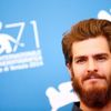 "Actor Andrew Garfield poses during the photo call for the movie ""99 Homes"" at the 71st Venice Film Festival"