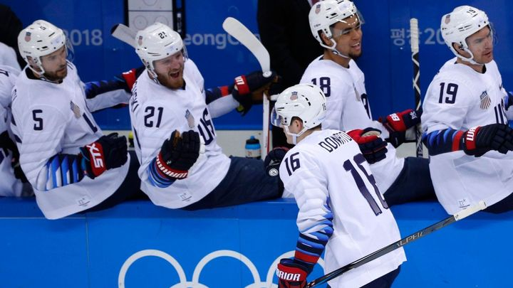 Živě: Česko - USA 0:1, hokejisté od sedmé minuty čtvrtfinále prohrávají