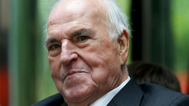 Bývalý německý kancléř Helmut Kohl