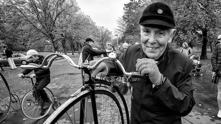 Fotozápisník: Pražská míle velocipedistů pohledem Jana Jirkovského
