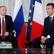 Macron se v Petrohradě setkal s Putinem, řešili spolu válku na Ukrajině i fotbalové mistrovství