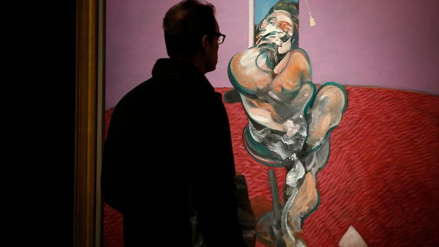 Francis Bacon: Portrait of George Dyer.