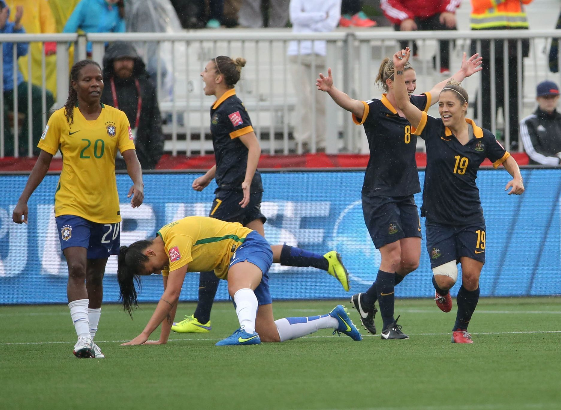 Soccer: Women's World Cup-Brazil at Australia