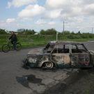 Obklíčení Ukrajinci pro Aktuálně.cz: Chybí jídlo, hoří auta