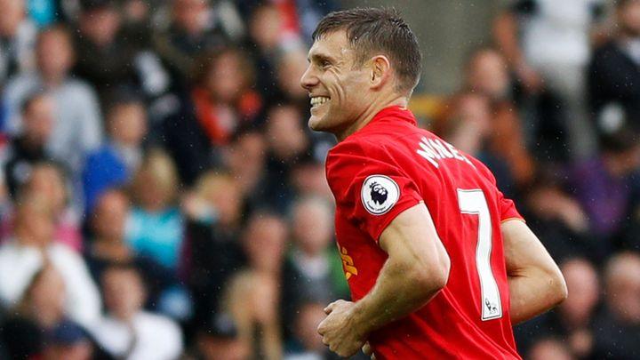 Liverpool jde na druhé místo Premier League, proti Swansea ale musel otáčet