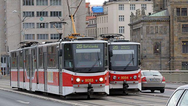 Pražská tramvajová revoluce  První den po změnách byl klidný 16cd614add