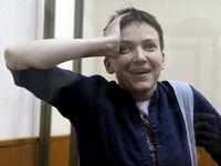 Savčenkovou dnes propustí, už čeká v Rostově. Přiletěl pro ni Porošenko