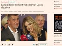 Mečiar, Berlusconi, Trump. Zahraniční média nenechávají na vítězi českých voleb Babišovi nit suchou