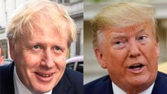 Boris Johnson a Donald Trump