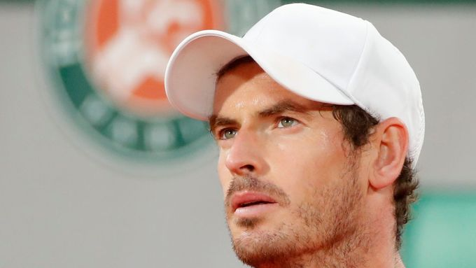 Andy Murray v prvním kole French Open.