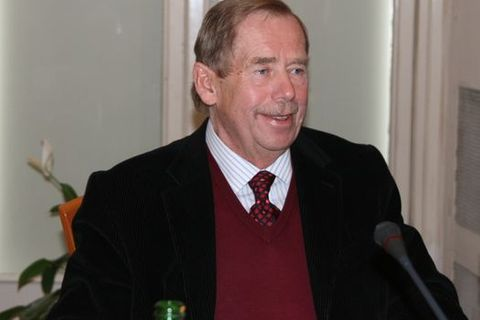 Czech president Havel hospitalized in grave condition