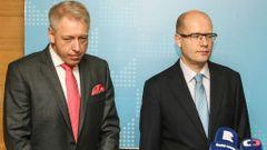 Uvedení Milana Chovance do funkce ministra