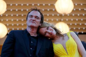 FOTO Quentin Tarantino se vrátil do Cannes s Pulp Fiction