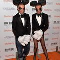 Halloweenská párty Heidi Klum - Dean Caten and Dan Caten
