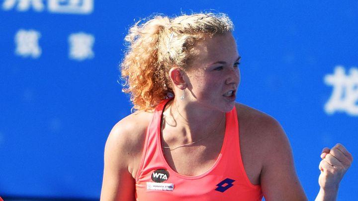 Skvělá jízda Siniakové pokračuje, Plíšková v semifinále vyzve přemožitelku Kerberové