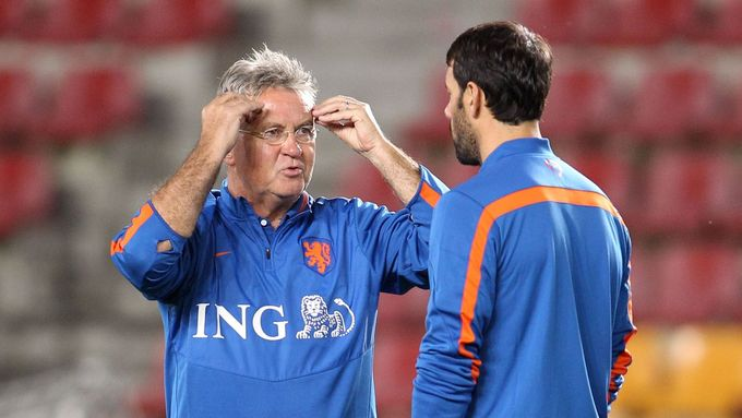 Guss Hiddink.