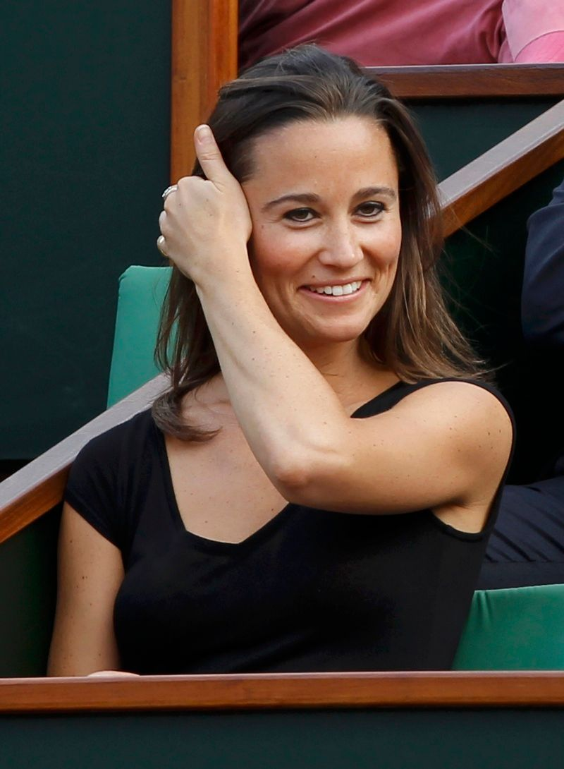 Pippa Middleton na French Open