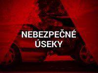 Mapa: Tady si za volantem dávejte pozor. Místa, kde dochází k nejhorším nehodám v Česku