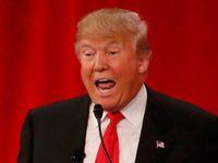 Trump zrudnul a ztratil při útocích Bushe kontrolu. Republikáni se bili tak, až se směje Clintonová
