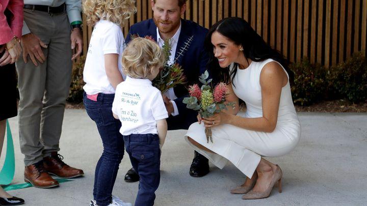 Meghan a Harry jsou zavaleni gratulacemi. Těhotenství s nimi slaví celá Austrálie