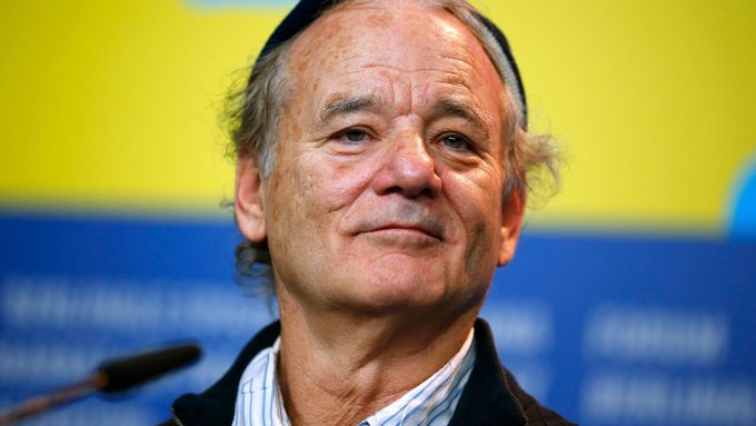 Bill Murray v Berlíně.