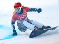 Suverénní triumf! Ledecká se zapsala do historie a slaví olympijské zlato i na snowboardu