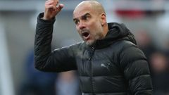 Pep Guardiola, Newcastle - Manchester City