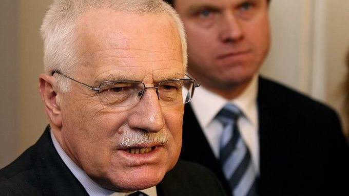 A world apart (Václav Klaus and Martin Bursík)